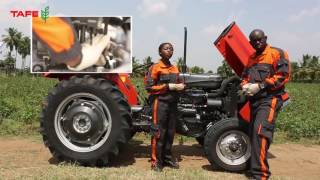 TAFE Tractor Installation in Bangla