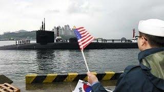 США и Южная Корея начали маневры в Желтом море