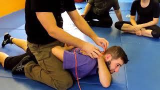 Hojo Jutsu Split Hand Tie
