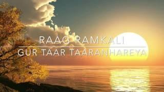 RAAG RAMKALI | SHABAD | GUR TAAR TARAN HAAREYA | JASLEEN KAUR VOP FAME