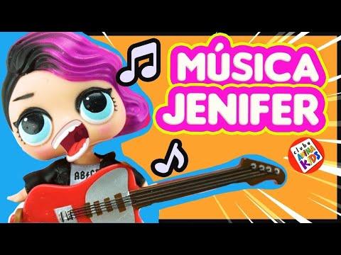 Boneca Lol Surprise Brasil Canta Música da Jenifer Clip Paródia Kids