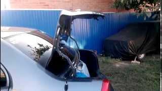 Пружины для крышки багажника Hyundai accent