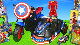 Download Avengers Superheroes Toys: Hulkbuster, Iron Man, Spiderman & Hulk Toy Vehicles Kids Mp3 and Videos