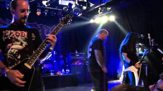 Exodus - Pleasures Of THe Flesh live from Mostovna 13.6.2012