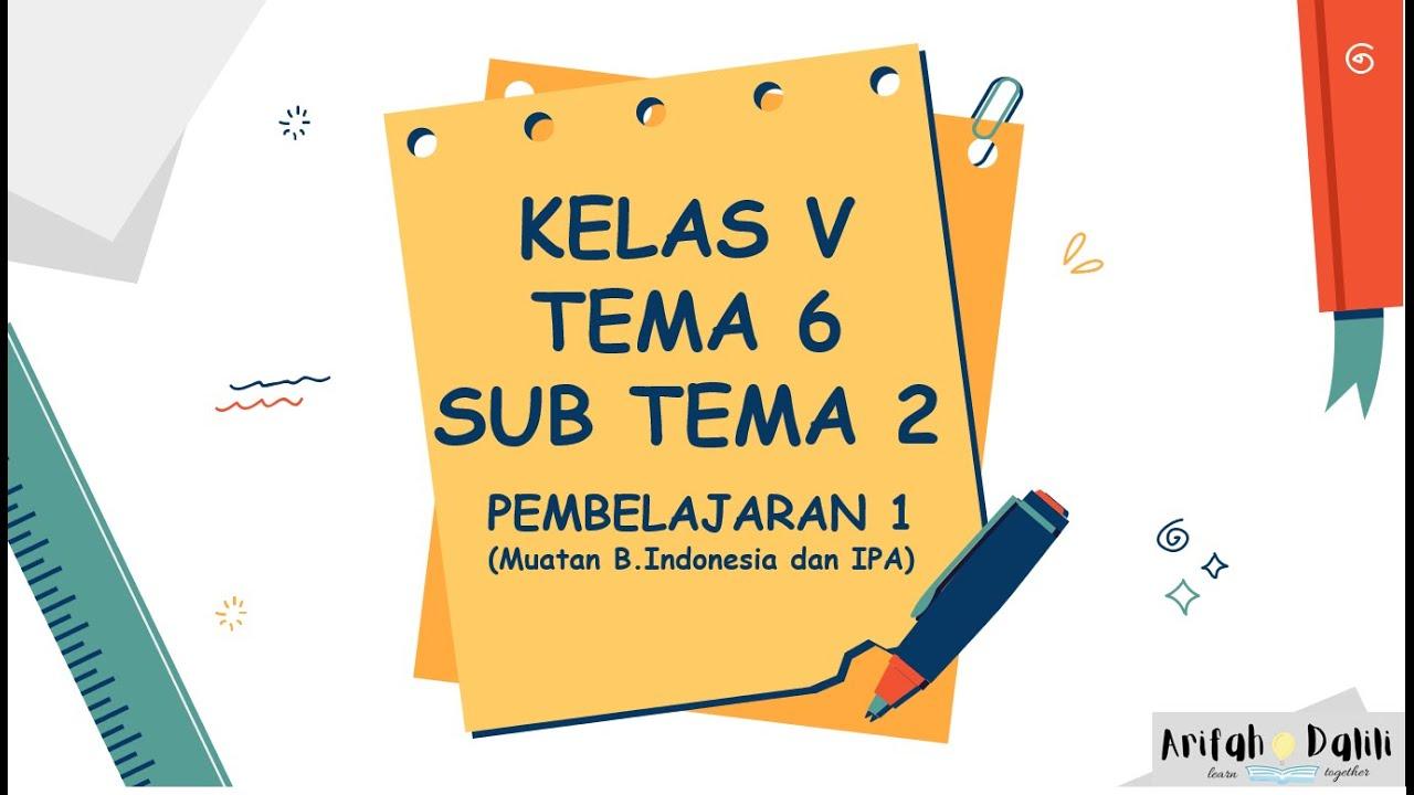 Download KELAS 5 (TEMA 6-SUB TEMA 2-PEMBELAJARAN 1)