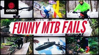 Funny Mountain Bike Crashes And Fails | GMBN's February Fails And Bails