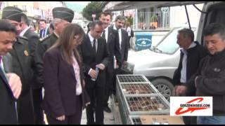 Sinop Valisi Dr. Yasemin Özata Çetinkaya'nın Gerze Ziyareti