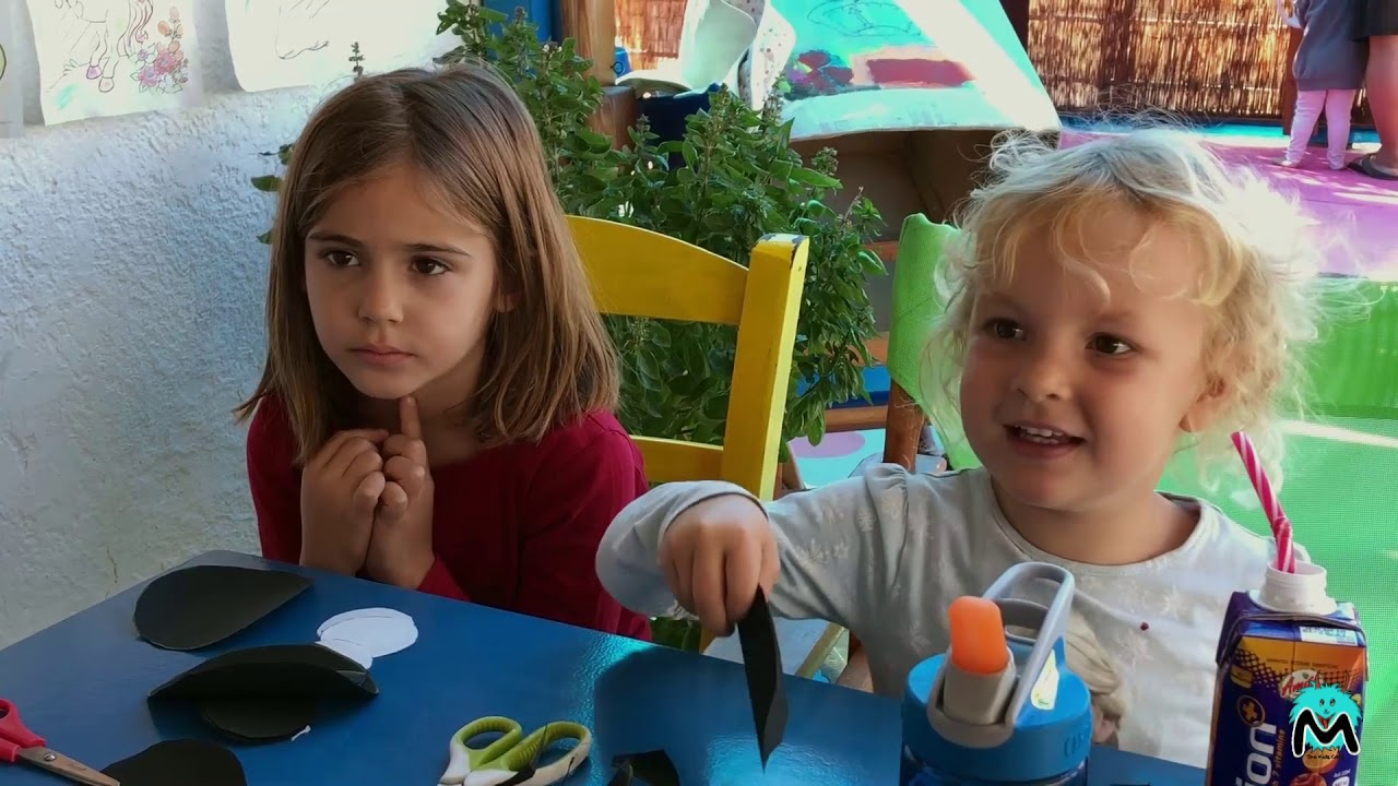 Childcare and playtime at Monster Café Kalymnos