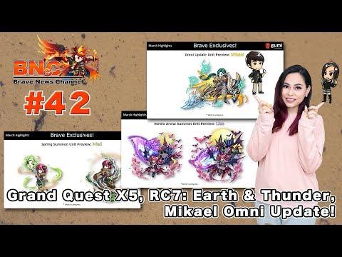 【ブレフロ】【BNC】Grand Quest X5, RC7: Earth & Thunder, Mikael Omni Update!【BNC】#42