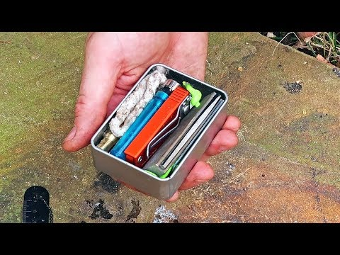 Tin Can Survival Fire Kit And Making My Own