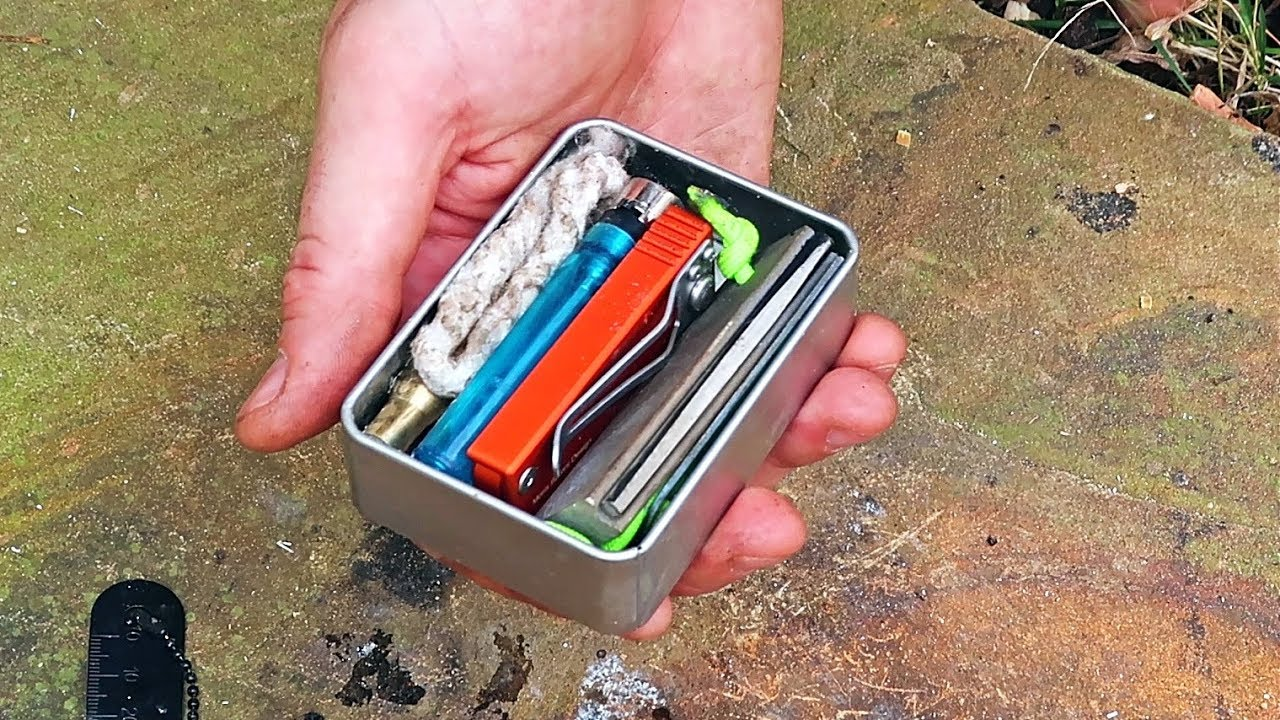 Tin Kit Cans For Fire Kit