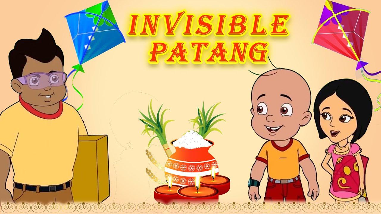 Mighty Raju VS Charlie's Invisible Patang | Fun Kids Videos | Fun Cartoon for Kids