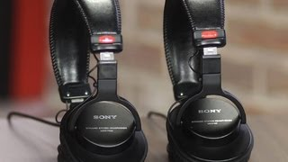 Sony MDR-V6 and Sony MDR-7506 headphones: Oldies but goodies