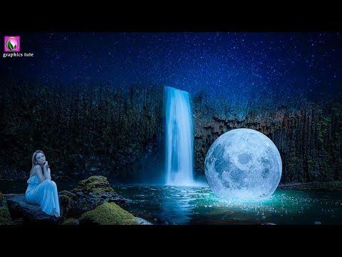 Surreal Photo manipulation - Moon On Water - Fantasy Photo Manipulation Tutorial In Photoshop thumbnail
