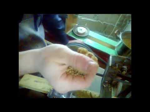 мини гранулятор из мясорубки.