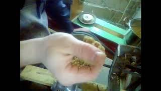 міні гранулятор з м'ясорубки.