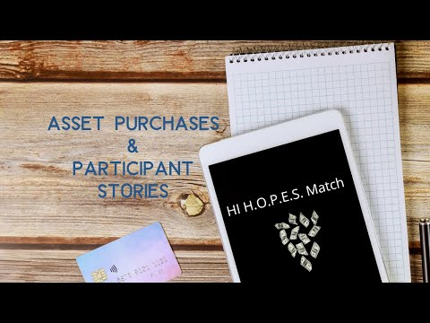 Opportunity Passport Program - Asset Purchases & Participant Stories