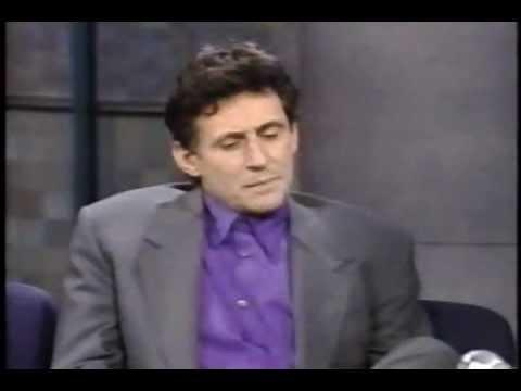 Gabriel Byrne on Letterman 1993