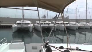 Одиночный перегон парусного катамарана Lagoon 450 (Часть 1)