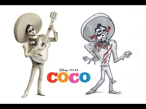 Coco Characters as Horror Characters