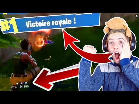 COMMENT FAIRE TOP 1 AVEC 0 PV ET 0 KILL !? MON TOUT PREMIER LIVE ! TOP 1 #1 FORTNITE BATTLE ROYALE