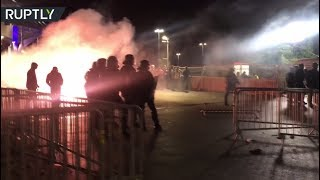 Football fans vs cops: Clashes erupt after Europa League final in France