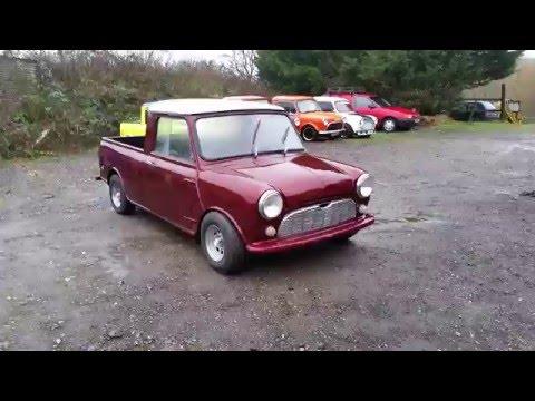 Mini Pickup Dark Red