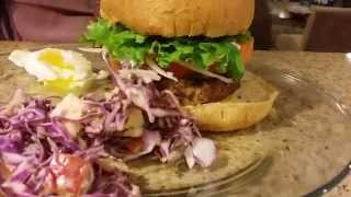 Burger Cooking Class Part 1 Using German Spices Uncut Footage