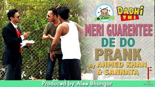 | Electronic Appliances Guarantee | Funny Prank By Ahmed & Sanata  In P4 Pakao 2017
