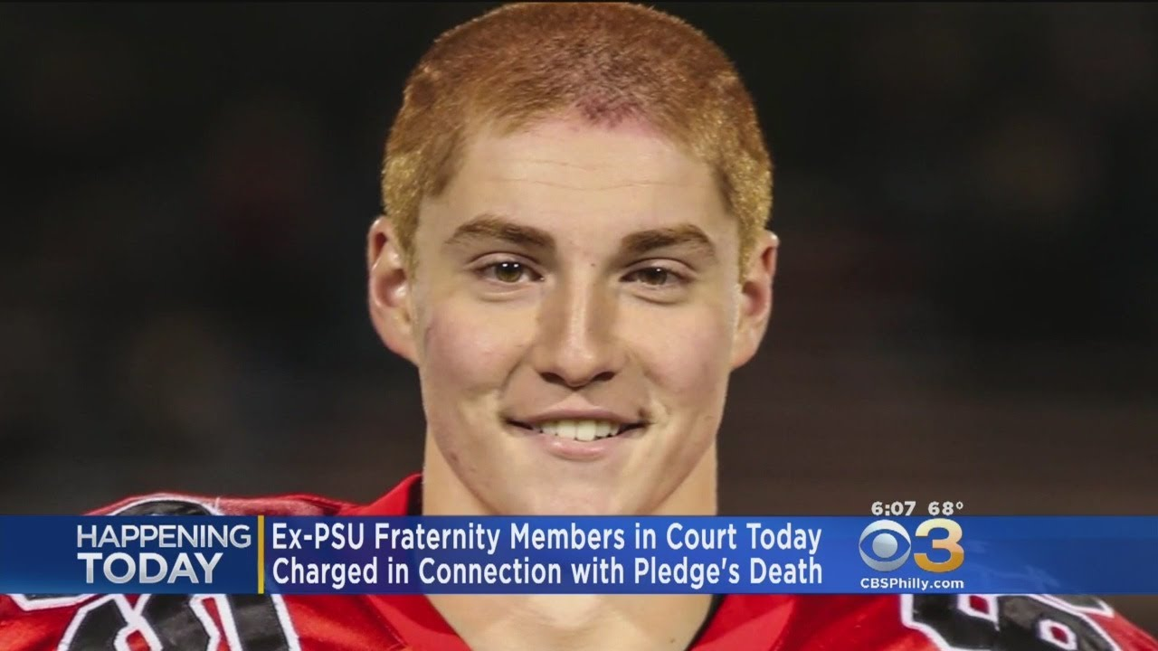 Hearing To Resume In Deadly Fall At Penn State Fraternity Youtube