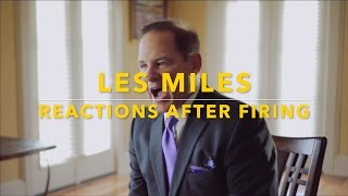 Les Miles Reactions After Firing