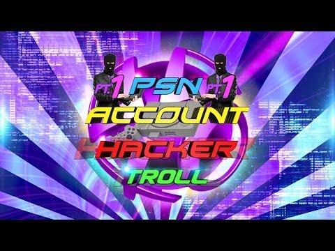 PSN Account Hacker Troll (PT.1)