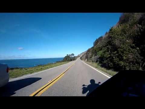 Highway 1 North - Big Sur area - KTM Duke 690