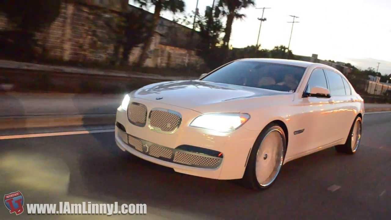 Bmw Rims 22 Inch >> 2014 BMW 740Li on Lexani LF-712 - YouTube