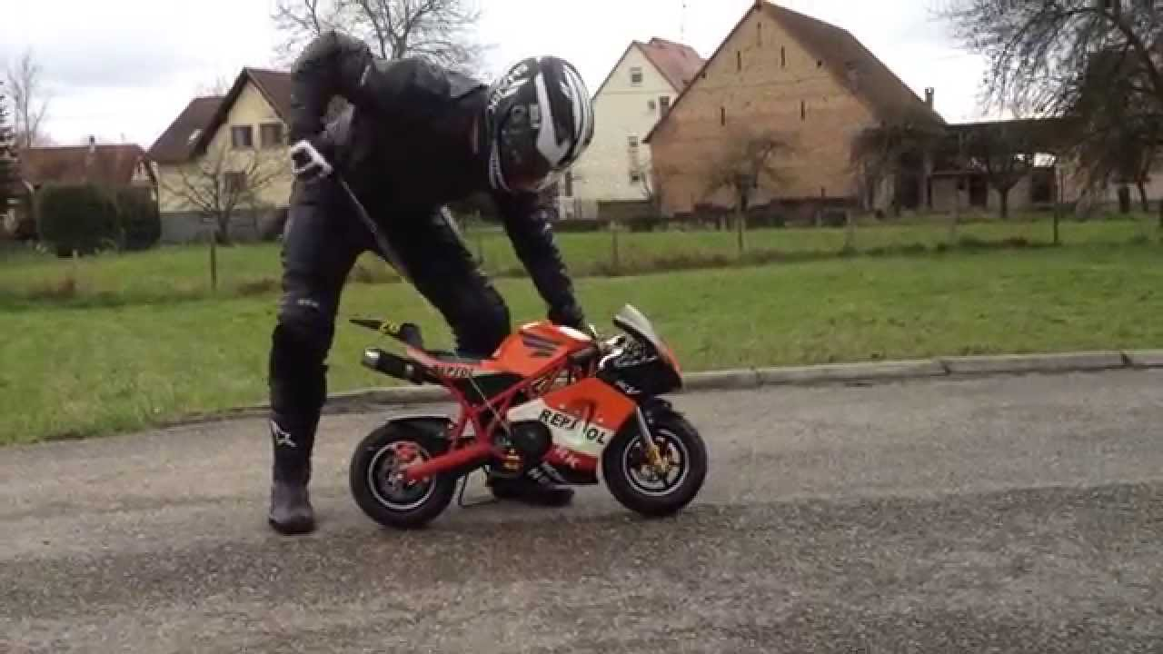 pocket bike ps50 rocket   gcautos fr alsace bas rhin 67   youtube