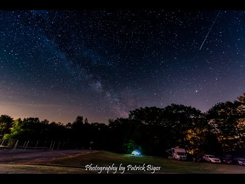 Gilsum Rock Swap & Sale 2016 Camping Under the Stars - 4K UHD