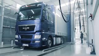 Myjnia ciężarowa TIR Sultof Tytan
