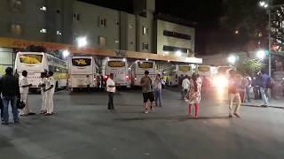 Beautiful Volvo buses at VRL bus stand Banglore/Chitradurga