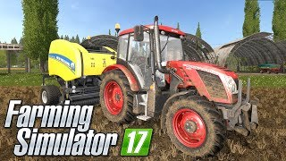 JAK ZROBIĆ ŁADNE BELE + KUPNO PŁUGA! Farming Simulator 2017 - PJOTER ROLNIK Po Polsku #09 [PC/HD]