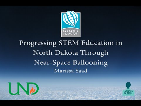 AHAC 2014: Progressing STEM Education in North Dakota through Near-Space Ballooning