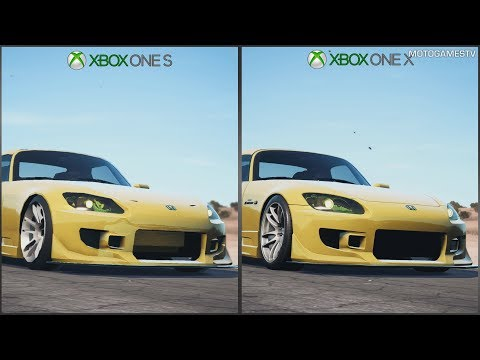 Need For Speed Payback Xbox One S Vs Xbox One X 1080p Graphics