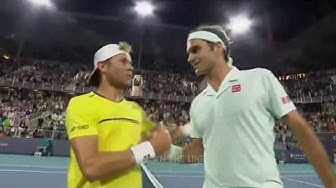 Roger Federer vs Radu Albot - Miami Open 2019 Highlights