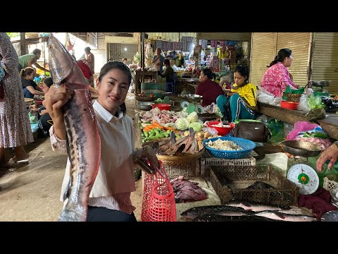 Buy Big Snakehead Fish For Cooking / Deep Fry Fish Recipe / Prepare By Countryside Life TV.