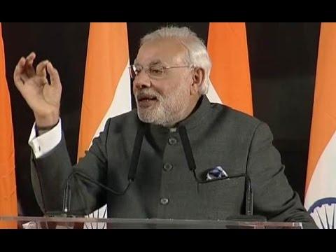 Live   Narendra Modi specch   Indian Community Reception   Shanghai