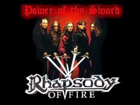 Клип Rhapsody of fire - Power of Thy Sword