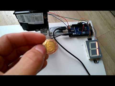 EMP 800 Coin Selector with Arduino