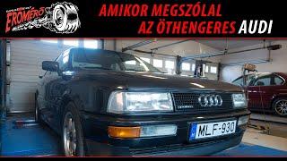 Totalcar Erőmérő: Amikor megszólal az öthengeres Audi