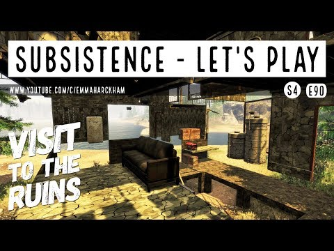 THE FORTRESS RUINS | Subsistence | Let's Play Gameplay | S4 90