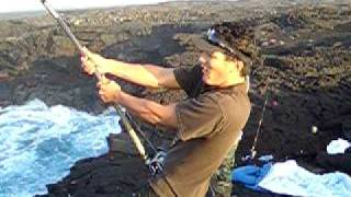 ahiuhawaii com presents ulua fishing on the big island of hawaii episode 1 of