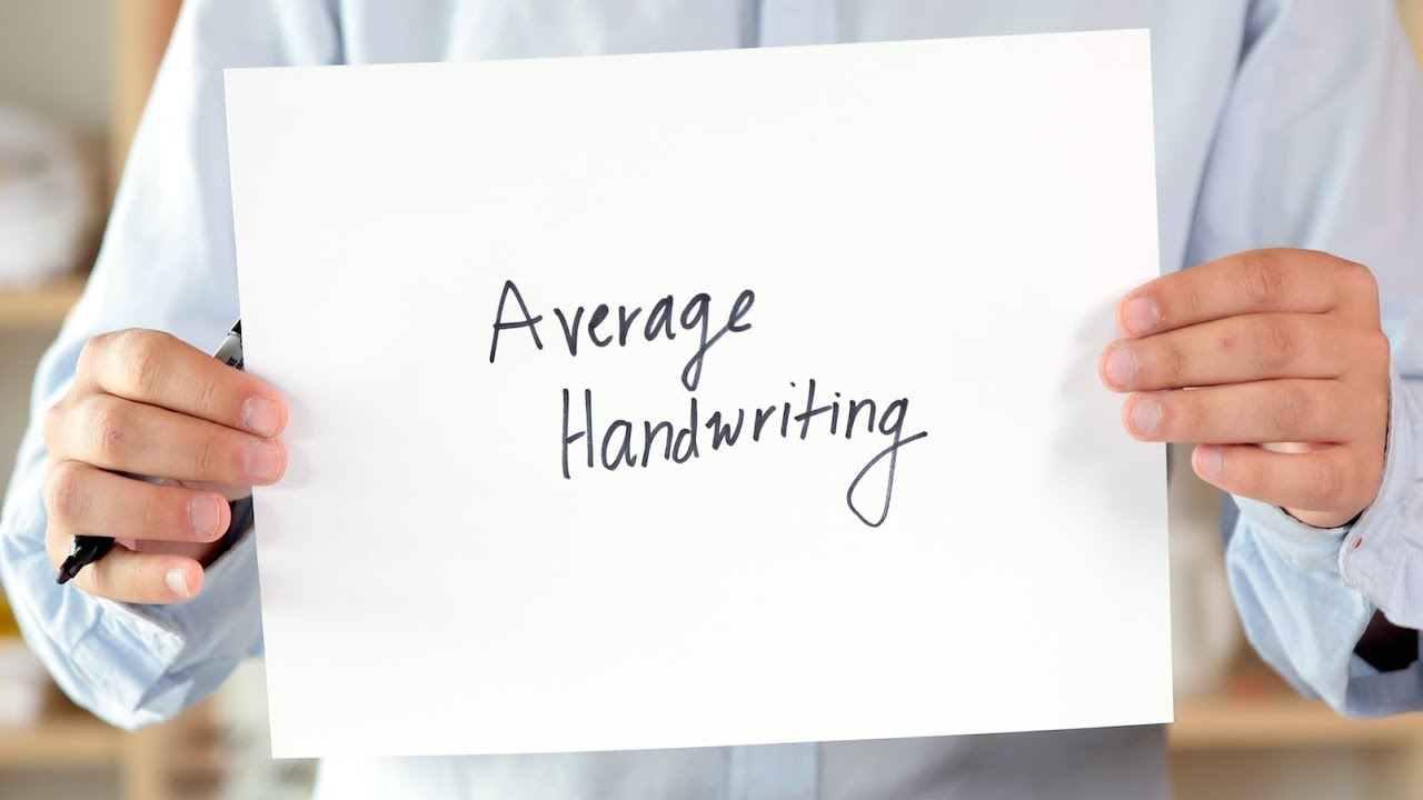 How to define character by handwriting